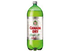 Botella Ginger Ale Light 3 L