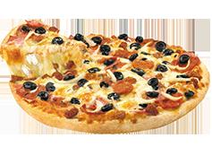 Pizza XL de 3 ingredientes.