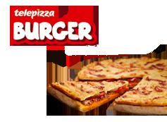 1 Telepizza Burger Personal.
