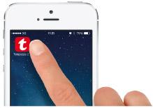 Aplicación instalada en iPhone