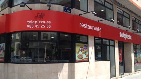 Establecimiento Telepizza MIERES (LA VEGA) (O)