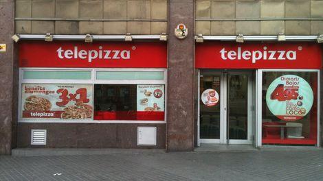 Establecimiento Telepizza AVDA DEL PARALELO ( B )