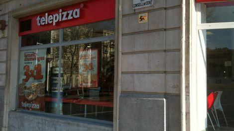 Establecimiento Telepizza CONSELL DE CENT (B)