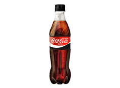 Botella Coca-Cola Zero (500ml)