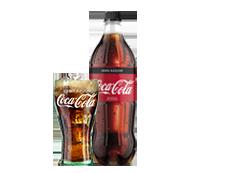 Botella Coca-Cola Zero (1l)