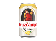 Lata Cruzcampo Radler