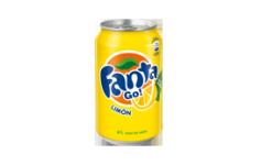 Lata Fanta Limón
