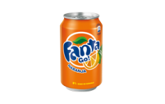 Lata Fanta Naranja