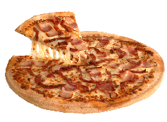 Pizza Bacon Crispy