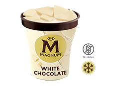 Tarrina Magnum White (450ml)