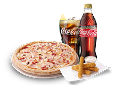 Menú Individual Pizza Especialidad