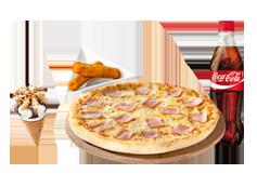 Menú Individual grande Pizza