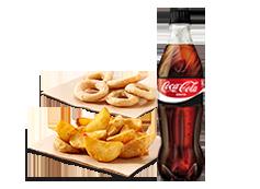 Tu refresco(50 cl.) y un complemento por