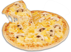 Pizza Caribeña