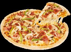 En cualquier combo o promoción pasa tu pizza de tradicional a premium por Bs. 10!!