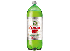 Botella Ginger Ale Light 3 L