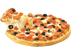 Pizza mediana 3 ing.