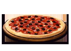 1 Pizza mediana clásica o 2 ing al gusto.