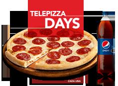 1 Pizza Familiar con 1 ing. a elección + 1 Bebida 1.5L  Compra OnLine y Recoge en Local.