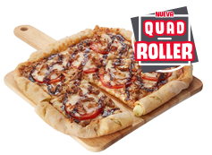 ¡Nueva! Pizza QuadRoller Pulled Pork o al gusto hasta 5 ing
