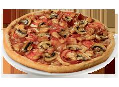 Pizza Barbacoa Cream