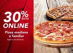 Online 30% desc. familiar al gusto.