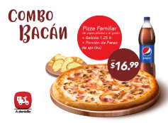 Combo Bacan Delivery