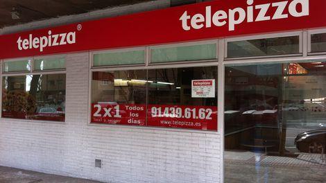 Establecimiento Telepizza VINATEROS (MORATALAZ)