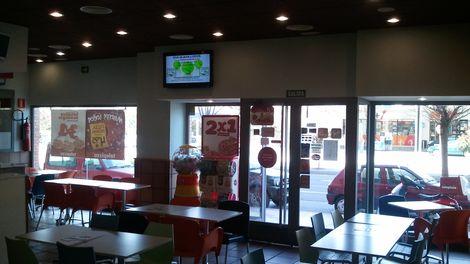 Establecimiento Telepizza TERUEL (AVDA SAGUNTO) (TE)