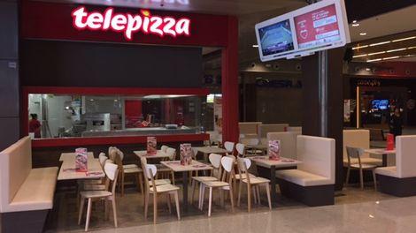Establecimiento Telepizza C.C. Max Ocio