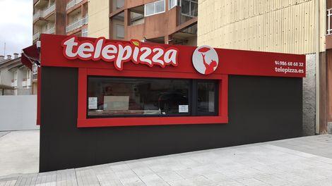 Establecimiento Telepizza Módulo Sanxenxo