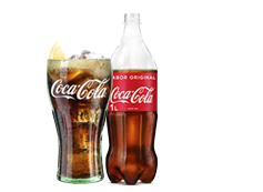 Botella Coca-Cola (1l)