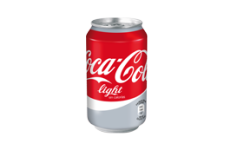 Lata Coca-Cola Light