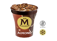 Tarrina Magnum Almond (440ml)