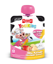 Yogurt Yogikids Fresa-Plátano