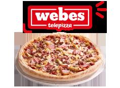 ¡Hoy es webes! 2 pizzas medianas por sólo