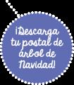¡Descarga tu postal de árbol de Navidad!