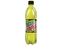 MOUNTAIN DEW 0,5 L