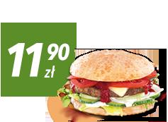 Hamburger DeLuxe XXL za 11,90 zł do zamówienia z pizzą