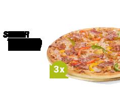 3 x pizza duża - 26,99 zł/szt.
