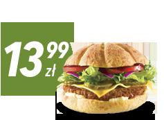 Hamburger za 13,99 zł do zamówienia z pizzą