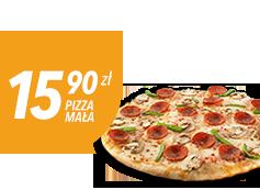 Mała pizza do 4 skł. za 15,90 zł