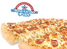 Średnia pizza Klasyczna American Pan