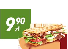 Kebab za 9,90 zł do zamówienia z pizzą