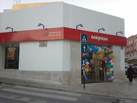 Estabelecimento Telepizza ALMADA