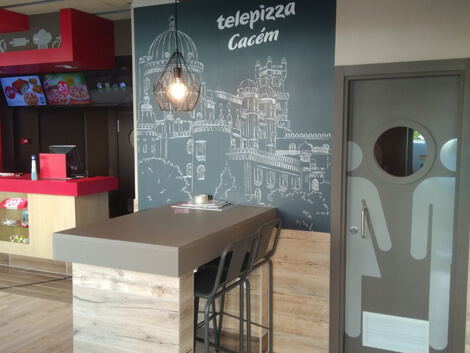 Estabelecimento Telepizza CACEM