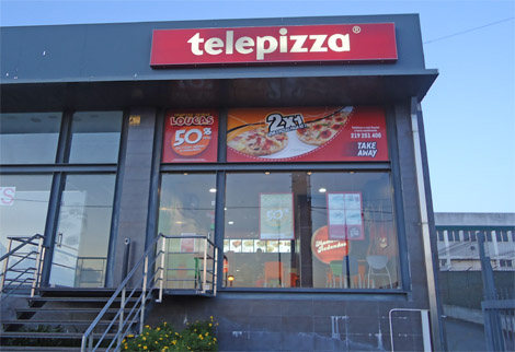 Estabelecimento Telepizza ABOBODA