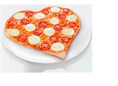 Pizza Coração