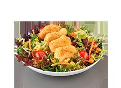 Salada c/Nuggets de Frango