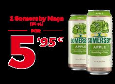 2 Latas de Somersby de 50cl